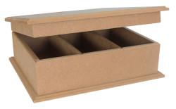 - KU69 Üç Bölmeli Kutu