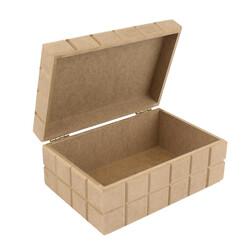 - KU95 Damalı Küçük Boy Kutu