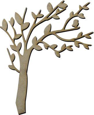 M12 Rüzgarlı Ağaç Ahşap Obje