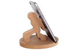 M63 Ahşap Hamal Telefon Standı - Thumbnail