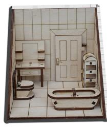- MK7 43831 Ölçekli Banyo