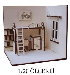 - MK9 43831 Ölçekli Çocuk Odası