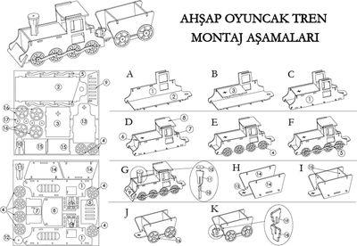 MS7 Tren Maketi
