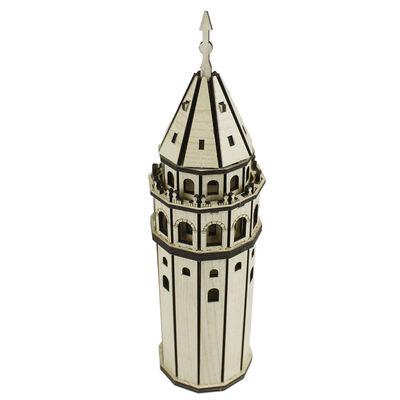 MS9 Ahşap Maket Set Galata Kulesi