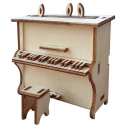 - My40 Minyatür Piyano Ahşap Obje