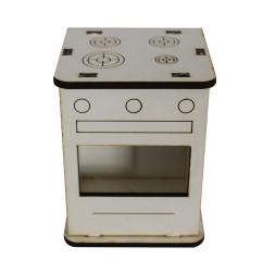 - MY76 Beyaz minyatür Fırın