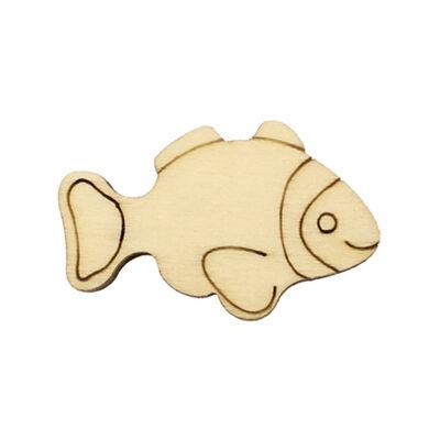 O120 Balık Obje Dörtlü