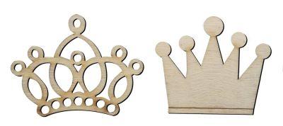 O28 Prens Prenses Tac Ahsap Obje Minik Objeler