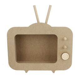 - PA6 Tv Pano Ahşap Obje