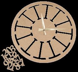 S10 Dekoratif Mekanizmalı Saat - Thumbnail