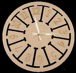 - S10 Dekoratif Mekanizmalı Saat