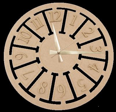 S10 Dekoratif Mekanizmalı Saat