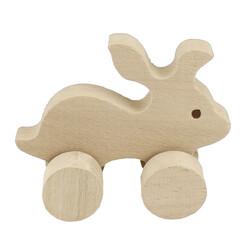 - TO19 Ağaç Tekerlekli Tavşan