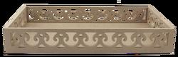 TP33 Kenarları Motifli Dikdörtgen Tepsi 46 cm - Thumbnail