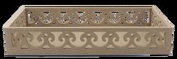 - TP34 Kenarları Motifli Dikdörtgen Tepsi 41 cm