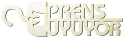 - Y15 Prens Uyuyor Yazısı Ahşap Obje
