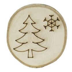 - YB31 Doğal Ağaç Yılbaşı Süsü Ağaç