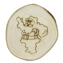 - YB32 Doğal Ağaç Yılbaşı Süsü Noel Baba