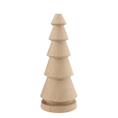 YB37 Ağaç Torna Çam Ağacı 14,5 cm