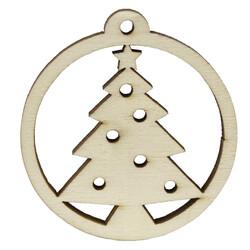 - YB41 Yılbaşı Süsü Yıldızlı Çam Ağacı