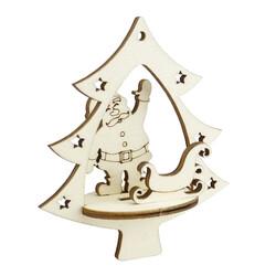 - YB51 Yılbaşı Ağaç Süsü Noel Baba Kızak