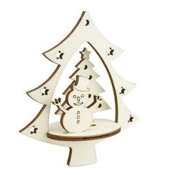 - YB52 Yılbaşı Ağaç Süsü Kardan Adam Çam Ağacı