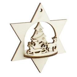 - YB54 Yılbaşı Ağaç Süsü Çam Ağacı Noel Baba