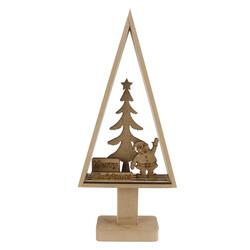 - YB58 Dekoratif Ahşap Yılbaşı Süsü Merry Christmas