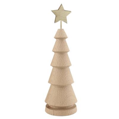 - YB59 Ağaç Torna Yıldızlı Çam Ağacı
