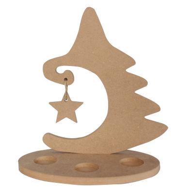 - YB9 Yıldızlı Yılbaşı Ağacı Mumluk